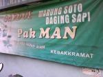 Soto sapi Solo-Sragen