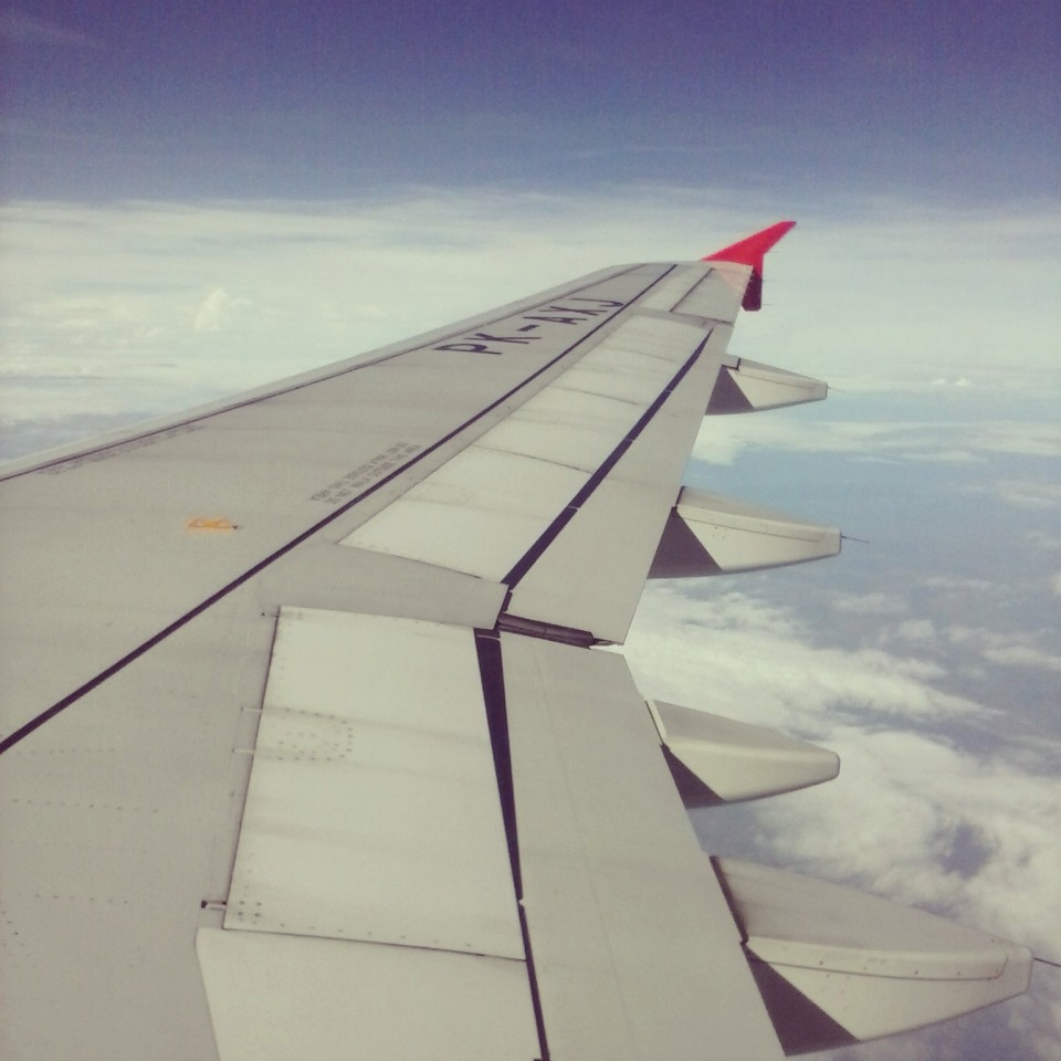 sayap pesawat air asia