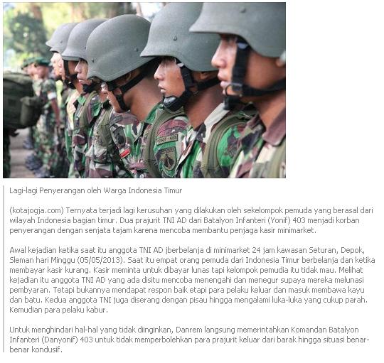 Lagi Lagi Premanisme Di Yogyakarta