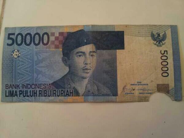 uang dari ATM sobel
