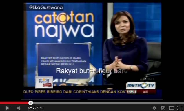 Video JK feat. Jokowi, Abraham Samad, Anies Baswedan, Ganjar Pranowo di Mata Najwa