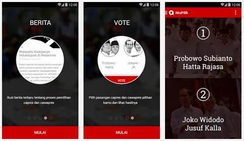 akupilih - aplikasi pemilu presiden 2014 2