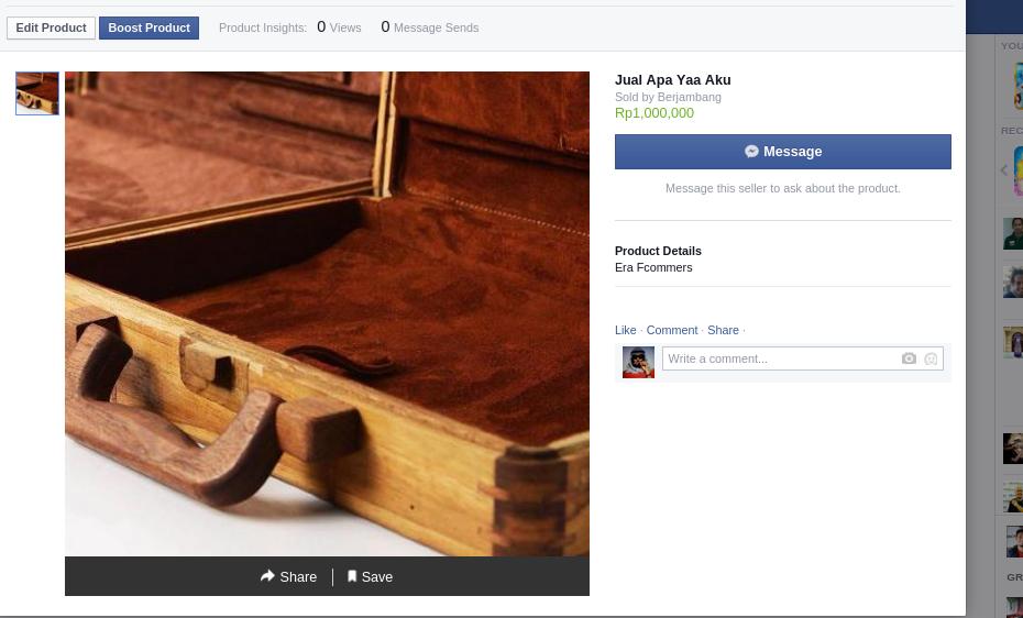 Selamat Datang Facebook Commerce 4