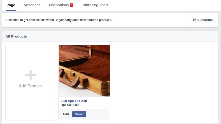 Selamat Datang Facebook Commerce 6