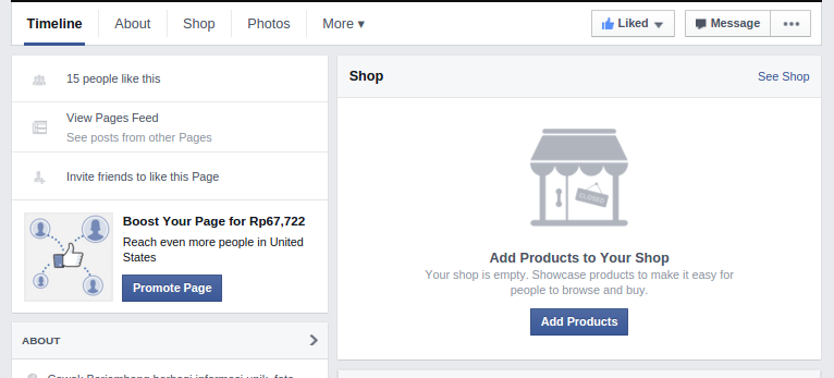 Selamat Datang Facebook Commerce 99